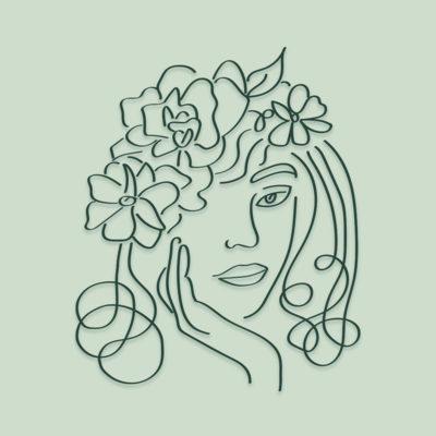 Illustrazione per I Sensi della Bellezza - Vietata la riproduzione