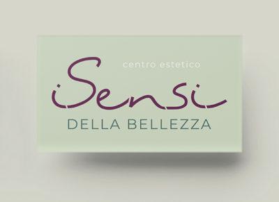 """Logo del centro estetico """"I Sensi della Bellezza"""" di Torino"""