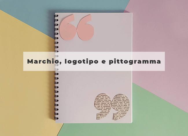 Marchio, logotipo e pittogramma